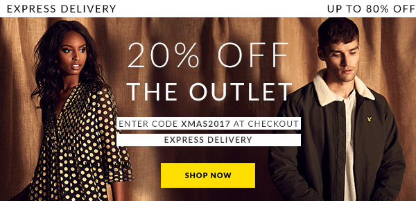 20% Off The Outlet