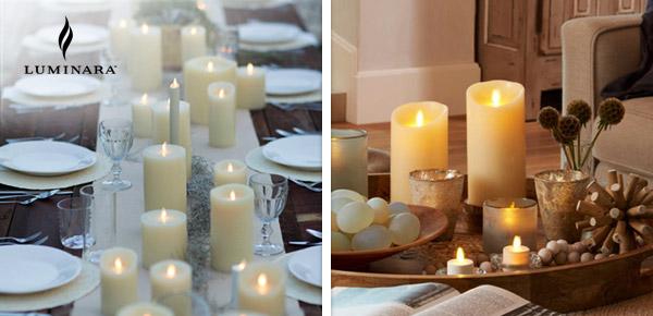 Luminara Real Flame Effect Candles